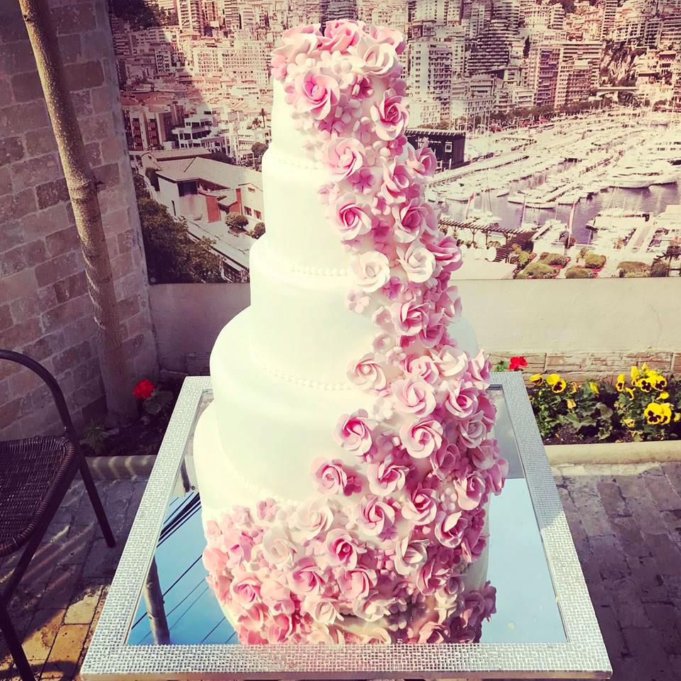 Tort Nunta Elegant Cofetarie